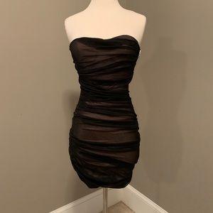 Alexander Wang Silk Tulle Mini Dress